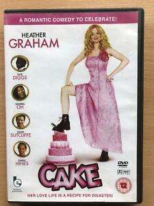 Cake DVD 2005 Love Life Disaster Romantic Comedy with Heather Graham