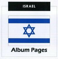 Israel - Stamp Album 1948-2017 Color Illustrated Album Pages