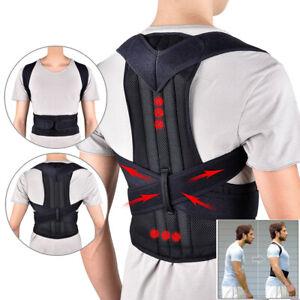 Adjustable Back Support Belt Back Posture Corrector Shoulder Spine Support