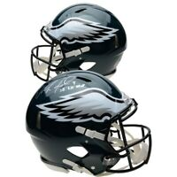 NICK FOLES Autographed SB LII MVP Eagles Speed Authentic Helmet FANATICS