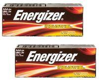 Energizer Industrial EN92 AAA Batteries 24 Pack X 2, 48 batteries New