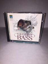 Trophy Bass By Sierra - Vintage PC CD-ROM Fishing Game - Rare