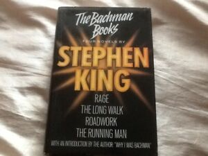 The Bachman Books Four Novels by Stephen King 1992 hardback very good condition
