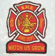 North Myrtle Beach Fire Dept Patch - NMB South Carolina - Watch Us Grow vintage