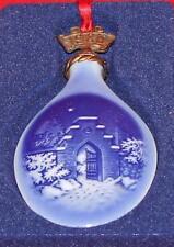 Bing & Grondahl B&G - Silent Night Holy Night - Christmas Ornament 1986 w/Box