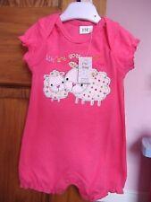 bebé niña rosa de una sola pieza mono pijama para recién nacido