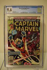 Marvel Spotlight #v2 #1 CGC 9.6 White Pages Captain Marvel 1979