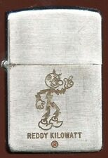 "1954 Dated ""Reddy Kilowatt"" Zippo Lighter from Bangor, ME Hydro Plant Dedication"