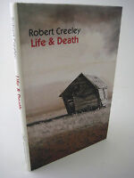 1st Edition Life & Death Robert Creeley First Printing Classic Poems Poetry