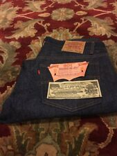 Vtg Levi's 501xx Jeans 1984 Dark Blue Denim Deadstock 38/33  No Redline