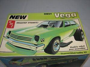Vintage AMT NEW VEGA FUNNY CAR Model Kit T491