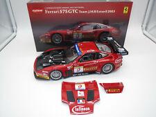 "Kyosho 08393B  Ferrari  575  GTC  ""Team J.M.B Estoril 2003""  1:18  OVP !"