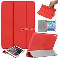 New Ultra Thin Magnetic Smart Case + Back Cover For Apple iPad Air, Air 2, 2 3 4
