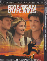 AMERICAN OUTLAWS (COLIN FARRELL) - SNAP CASE (WS) ✨✨✨NEW DVD✨✨✨