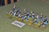25mm ACW / union - american civil war infantry 15 figures - inf (12425)