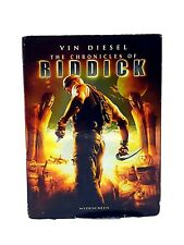 New The Chronicles of Riddick Dvd 2004 Widescreen Vin Diesel Free Shipping