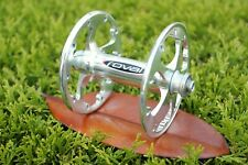 Roval High Flange 20h Front Hub - Silver Anodized, 20 Spoke hole, 100mm Spacing