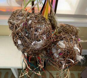 Grapevine Bird Nesting Ball