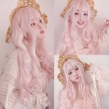 Lolita Peach Pink Hair Cosplay Costume Performance Prom Stylish Party Kawaii Wig
