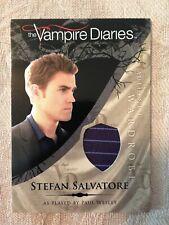 VAMPIRE DIARIES - SEASON 1 - STEFAN SALVATORE - M2 - Costume Card - NrMt