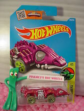 Case H/J 2016 i Hot Wheels FANGSTER #249✰Purple; green 5sp✰DINO RIDERS