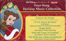 "WALT DISNEY ""Four Song Holiday Music Collection"" CASSETTE. 1997 (Caldor release)"
