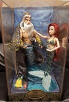 Disney LIMITED EDITION Designer Doll Ariel Little Mermaid Triton FREE SHIPPING