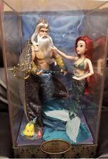 Disney LIMITED EDITION Designer Doll Ariel Little Mermaid Triton FREE SHIPPING