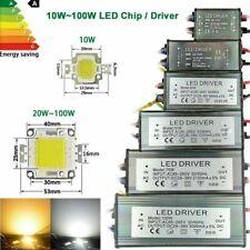 LED chip driver COB 10W 30W 50W 100W power supply transformer 240v - dc 12v 36v