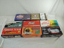 Lot of 9 Action 1/24 Scale Diecast Collector Cars Spencer Labonte Harvick Bodine