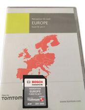 GENUINE FORD FX TRAVELPILOT TOMTOM SAT NAV NAVIGATION SD CARD UK EUROPE 2017 MAP