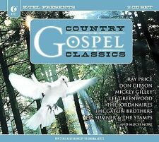 VARIOUS ARTISTS - K-TEL PRESENTS COUNTRY GOSPEL CLASSICS NEW CD
