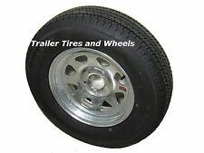 *2* Kenda Karrier ST215/75R14 LRC Trailer Tires & Wheels Galvanized Spoke