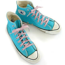 Vintage USA-MADE Converse All Star Chuck Taylor TURQUOISE sz 8 (mens 6) American
