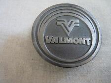 Valmont Industries, Inc Logo Pewter Belt Buckle - Heavy 2.5 inch Circle