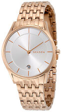 Skagen SKW2388 Holst Silver Dial Rose Gold Stainless Steel Women's Watch