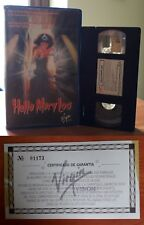 VHS BIG BOX - PROM NIGHT 2: HELLO MARY LOU + Certificato di Garanzia - VIRGIN !!