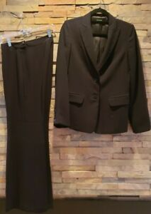 Benetton Women's Career Pant & Jacket. US Size 6. Black. Great Condition