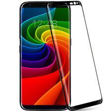 Markenlose 9H Hartglas Displayschutzfolien für das Samsung Galaxy S8 Silber