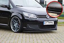 Spoilerschwert Frontspoiler aus ABS für VW Touran 1T3 GP2 ABE schwarz glänzend