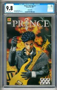 Prince: Alter Ego #1 (1991) CGC 9.8  White Pages 2nd Printing McDuffie - Bolland