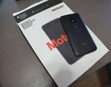 "NEW Motorola Moto E4 GSM UNLOCKED 4G LTE 5"" 16GB Memory 2GB RAM Smartphone Black"