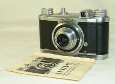 rare camera Eho-Altissa,ALTIX II,ROW  TEGONAR 3,5/35mm. Lens ,24x24mm,Germany