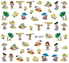 Nail Art Stickers Water Decals Transfers Snoopy Cartoon (M+351)