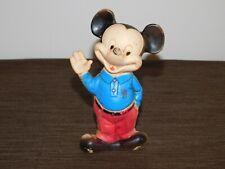 "New listing Vintage 6 1/2"" High 1965 Wdp Walt Disney Prod Mickey Mouse Plastic Doll Toy"