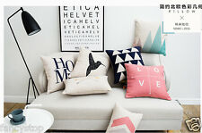 Cotton Blend Art Deco Geometric Decorative Cushions & Pillows