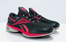 Woman's REEBOK EasyTone SmoothFit Running Shoes~Dark Gray/Bright Pink~Size 9.5