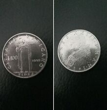Città del Vaticano moneta 100 lire Papa Giovanni  XXIII del 1959