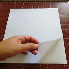 10 Pcs A4 Eggshell Sticker Paper Adhesive Label Inkjet Laser Printer Decor Sheet