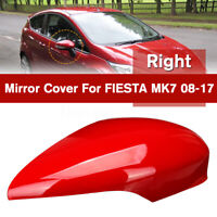 RIGHT DRIVERS SIDE DOOR WING MIRROR COVER CAP CASING FOR FORD FIESTA MK7  `,